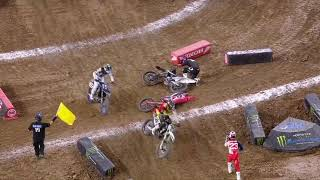 450SX Main Event Highlights - Houston 1