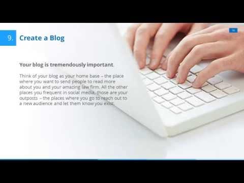 Social Media Marketing Strategy for Attorneys