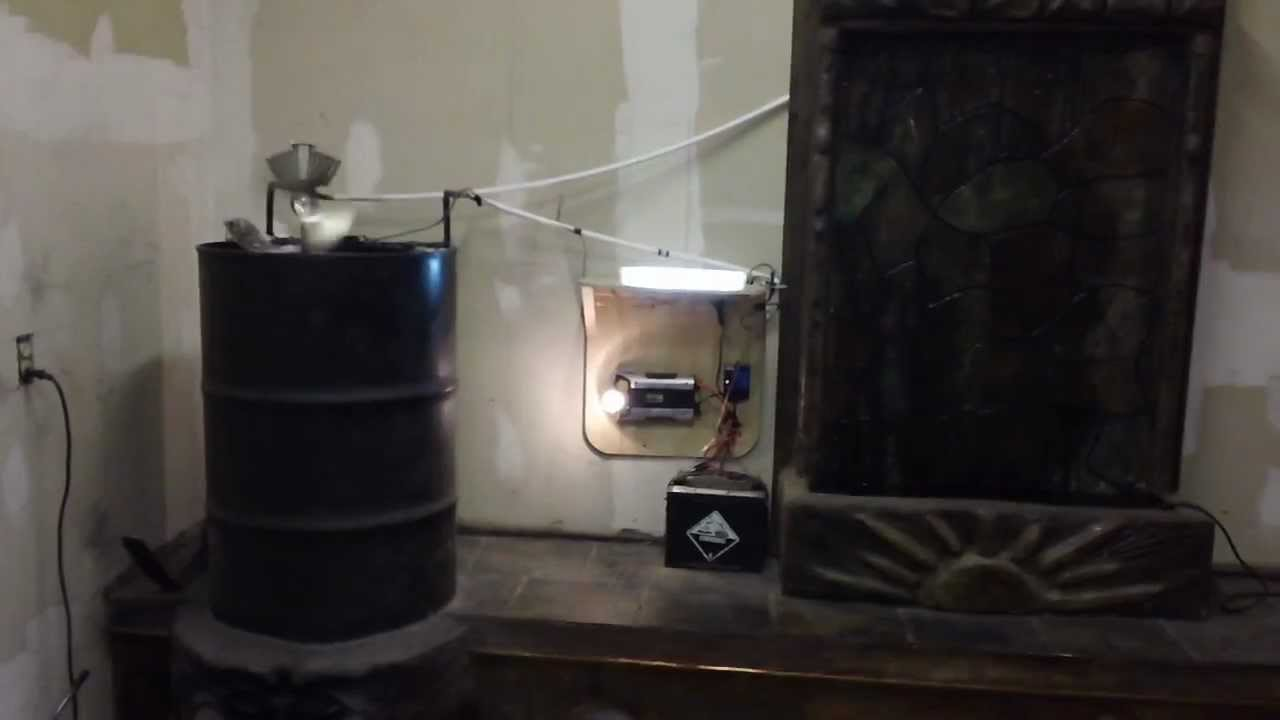 Rocket Stove Thermoelectric Generator And Waterfall Part