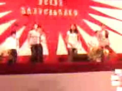 marcos barrientos - coreografia señor eres fiel - la iglesia de dios - cajamarca - peru