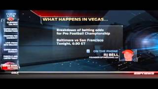 SportsCenter: RJ Bell Talks Super Bowl Betting