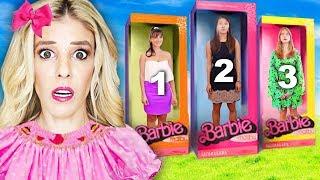 Which BEST FRIEND inside DOLLHOUSE Wins Escape Room in Real Life! | Rebecca Zamolo