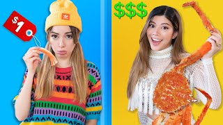 CHEAP vs EXPENSIVE Food Challenge