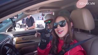 Mitsubishi eXperience Day! Rụng tim sau tay lái Hot Girl Malaysia |XEHAY.VN|
