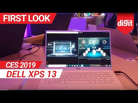 CES 2019: Dell XPS 13 First Look | Digit.in