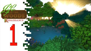 Life In The Woods: Renaissance - EP01 - BEAUTIFUL! (Minecraft)