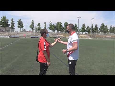ALFREDO ALBA (Entrenador Actur) Actur Pablo Iglesias 2-1 Atlético Calatayud / J 15 / Preferente Gr3