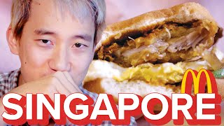 Americans Try Singapore McDonald's