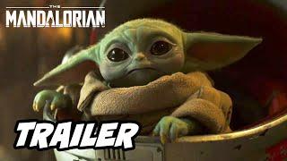 Star Wars The Mandalorian Season 2 Trailer 2020 - Baby Yoda and Easter Eggs Breakdown