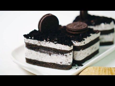 오레오 티라미수 케이크 만들기 Oreo tiramisu cake   한세 HANSE