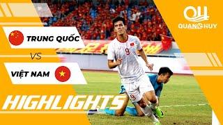 Highlights   U22 Trung Quốc - U22 Việt Nam   Thắng lợi thuyết phục trước thềm SEA Games 30