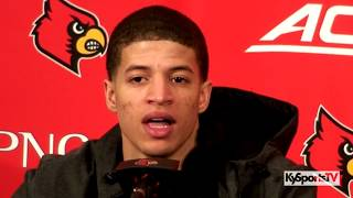 Louisville Basketball Williamson, Sutton & Kimble Postgame vs Indiana State