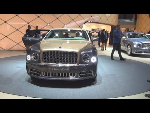 Bentley Mulsanne EWB (2016) Exterior and Interior in 3D