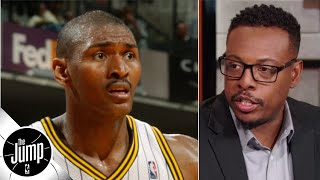 Paul Pierce: Ron Artest pantsing me doesn't compare to Marcus Morris' head bonk | The Jump