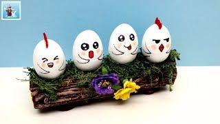 DIY Easter Egg Holder Log Art and Craft Ideas Handmade Handcraft