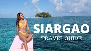 SIARGAO, PHILIPPINES TRAVEL GUIDE (budget & itinerary)