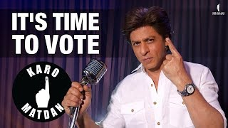 Watch: Shah Rukh Khan Urges Voters In His New Music Video..