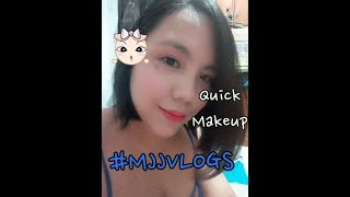 My every day on the go Makeup #MJJVLOGS