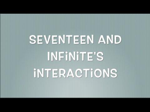 Seventeen x Infinite Moments
