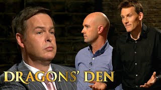Peter Exposes a Fellow Multi-Millionaire In The Den | Dragons' Den