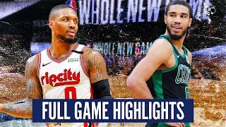 PORTLAND TRAIL BLAZERS vs BOSTON CELTICS - FULL GAME HIGHLIGHTS | 2019-20 NBA Season