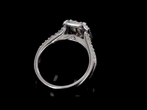 Browns Family Jewellers Vintage Diamond Cluster Ring