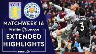 Aston Villa v. Leicester City | PREMIER LEAGUE HIGHLIGHTS | 12/08/19 | NBC Sports