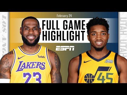 Los Angeles Lakers vs. Utah Jazz [FULL GAME HIGHLIGHTS] | NBA on ESPN