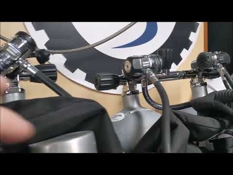 SCUBAPRO First Stage hose routing for…