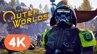 The Outer Worlds Official 4K Gameplay Reveal Trailer - E3 2019