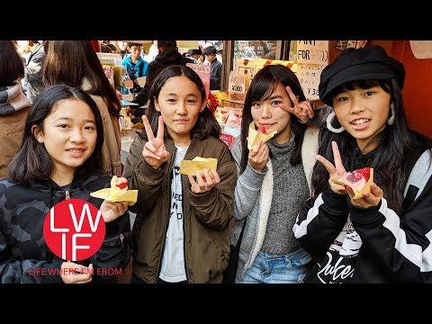 Eating Our Way Through Asakusa, Tokyo
