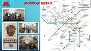 70  Đi thử tàu điện ngầm ở MÁTXCƠVA-Liên bang NGA
