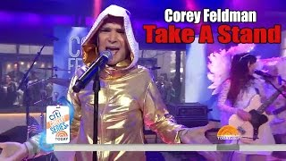 Corey Feldman - Take A Stand Live on Today Show Cringe Commentary