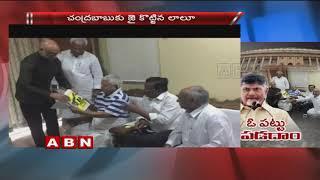 TDP MPs meet Bihar Former CM Lalu Prasad Yadav..