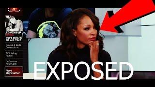 FLOYD MAYWEATHER EXPOSE CARI CHAMPION ON ESPN LIVE TV (MUST WATCH)