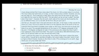 اجابات work book practice test 6 A الثالث الثانوي