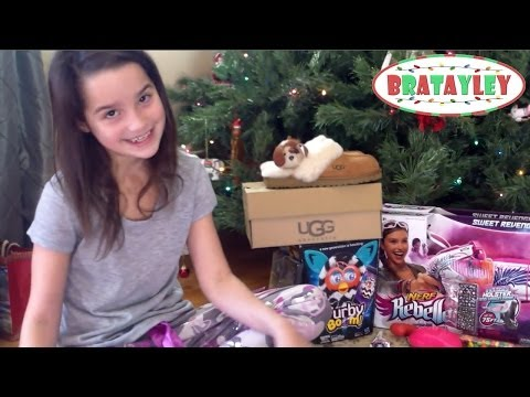 Christmas Morning With Bratayley 2013   Christmas Gift Haul (WK 156)