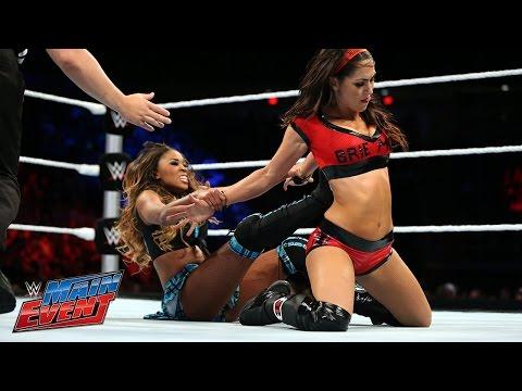 Brie Bella vs. Cameron: WWE Main Event, September 16, 2014
