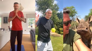 Watch: Kevin Pietersen funny sport time at home..