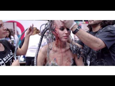 Nanshy at the IMATS Makeup Show London UK 2016 Part 1