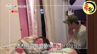 [Vietsub][MiinaheeVN] Người nổi tiếng sống cùng tôi tập 3 - Heechul cut