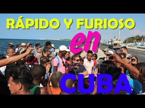 Rápido y Furioso en La Habana, Cuba!