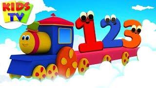 Number Train | Bob The Train | Preschool Learning Videos For Children - Kids Tv