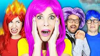 My Emotions Control My Best Friends - Inside Out in Real Life