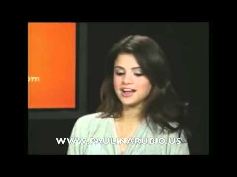 Selena Gomez es Fan de Paulina Rubio