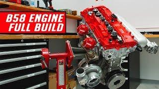 2020 Supra 1000 HP Engine Assembly - Start to Finish
