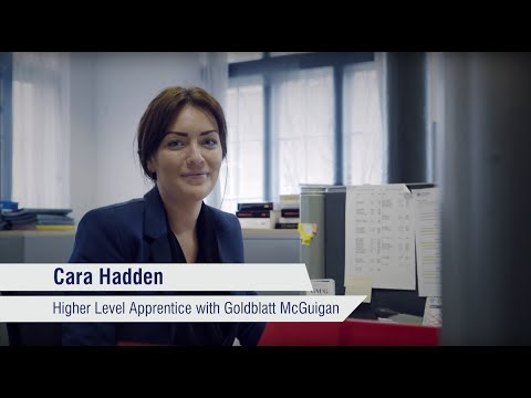 Higher Level Apprenticeship - Cara Hadden