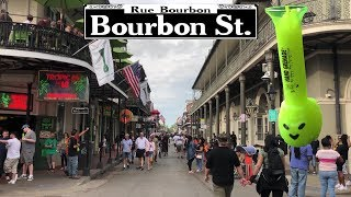 Guide To Drinking On Bourbon Street New Orleans