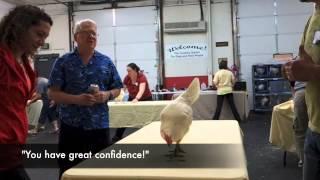 Yanick Dion - Chicken workshop avec Bob Bailey aux USA sur la discrimination
