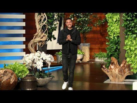 Trevor Noah Was Convinced Ellen Played a Wardrobe Prank on Him